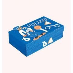 Schul- & Kreativbox Polizist   35x22,5x10cm