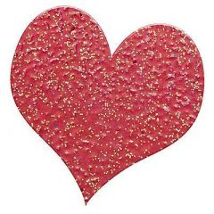 Embossingpulver glitter rot