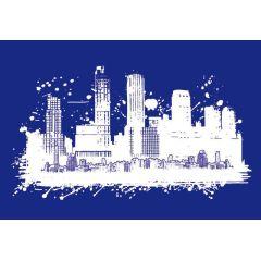 My style Schablone: Skyline  A3