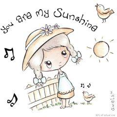 S.W.A.L.K. Sunshine Stempelgummi