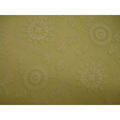 Transparentpapier hellgrün mit zartem Blumenmuster