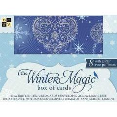 Box of cards Winter magic 2011