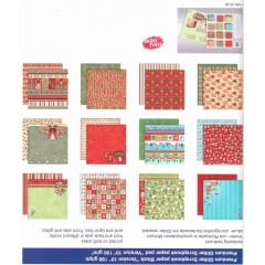 PREMIUM GLITTER SCRAPBOOK PAPIER BLOCK 12x12,VERSION 10 Winter 2012