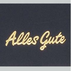 Sticker Alles Gute