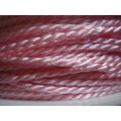 Acetat-Kordel  2mm rosa
