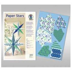 Paper Stars in blau ICE