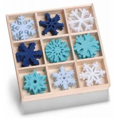 Filzbox Eiskristalle