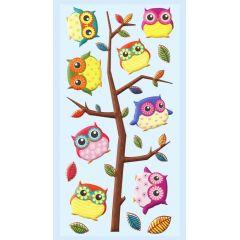 CREApop® SOFTY-Sticker Eule