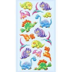 CREApop® SOFTY-Sticker Dino2