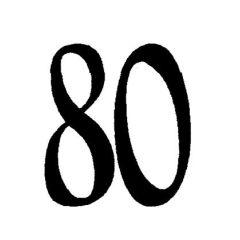 Zahl80 klein