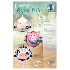 Funny Paper Balls, Farmtiere