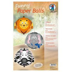 Funny Paper Balls, Wildtiere