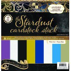 Cardstock stack Stardust 30,5X30,5 cm / 48 Bogen