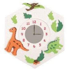 Uhren-Bastelset Dino  21 x 30 cm