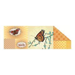Fotokarton Patchwork, 49,5x68 cm MOTIV 1 Schmetterling