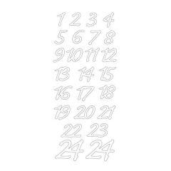 Z1-24 für Adventskalender, 24,5 x 10 cm