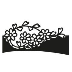 Craftables - Folding die Flower  CR1270 Marianne Design