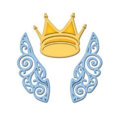 Spellbinders Die D-Lite S2-036 Wings and Crown