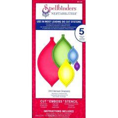 Spellbinders Shapeabilities S5-116 2012 Heirloom Ornaments