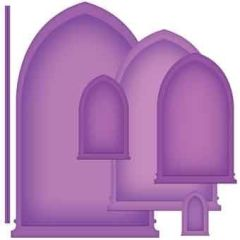 Spellbinders Nestabilities Arched Window One S5-178