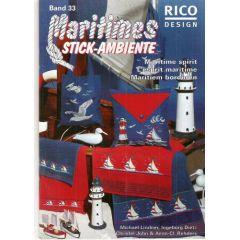Maritimes Stickideen Rico Design