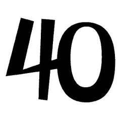 Zahl 40
