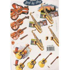 Gitarre, Saxophon,Cello
