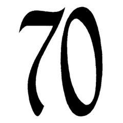 Zahl70 klein