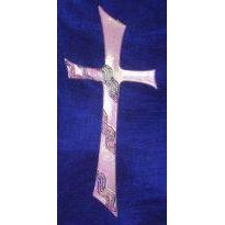 Kreuzzeichen rosa