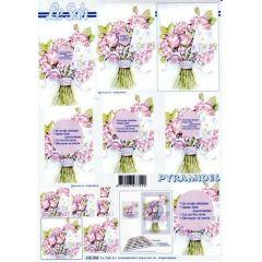rosa Blumenstrauss