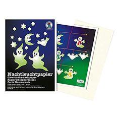 Nachtleuchtpapier, 22 x 31 cm, 2 Blatt