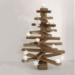 bauMsatz - Bausatz für einen Weihnachtsbaum aus Eiche