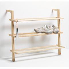 Schuhregal aus Esche