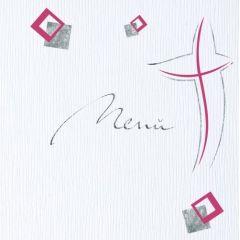 """Modernes Kreuz """"Menü"""""""