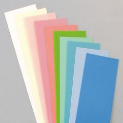 Wachsplatten, 200 x 50 x 0,5 mm, 10 Stk., Pastell-Mischung