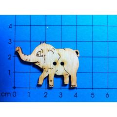 Knopf: Elefantenbaby 40 mm