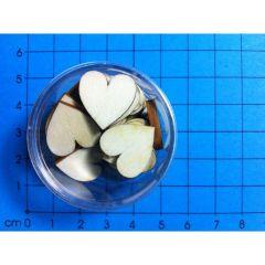 Herz symmetrisch 16 mm in Dose ca. 24 St.