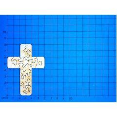 Puzzlekreuz ab 80 mm - 200mm