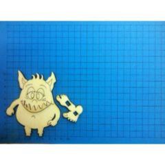 Monster Minzi Standfigur 100 mm - 200MM
