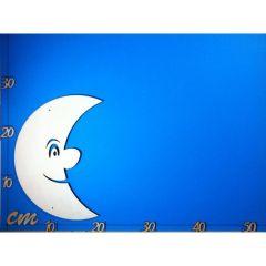 Mond mit großer Nase aus Holz 250 mm