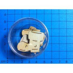 Nikolausstiefel 20mm ca. 7 Stück
