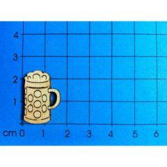 Maßkrug mit Schaum ab 20 mm