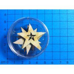 Stern mit Stern ohne Loch in Dose