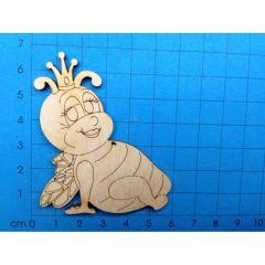 Bienenkönigin 44mm hoch- 300mm