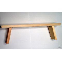 Schwibbogen Untersatz klappbar Holz Bank Erhöhung Lichterbogen Fensterbank 40 cm