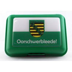 Brotbüchse Oorschwerbleede Sachsen Brotdose Lunchbox Dose Box