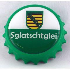 Kapselheber Sachsen Sglatschtglei Flaschenöffner Magnet DDR Sächsisch Ostalgie Geschenkidee