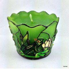 Kerze im Tiffany Stil eine ganz besondere Kerze günstig