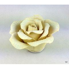 Keramik  Rosen 3 verschiedene Farben Wunderschöne farbenfrohe Rosen zum Dekorieren und verzieren
