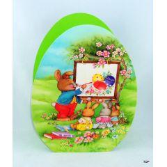 Ostern Geschenktüte  Osterkörbchen Ei Form Geschenktasche